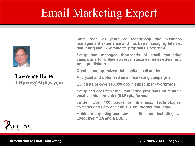Email Marketing Expert Slide Image