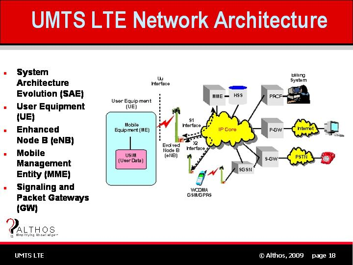 Umts lte tutorial network architectureg umts lte network architecture slide sciox Images
