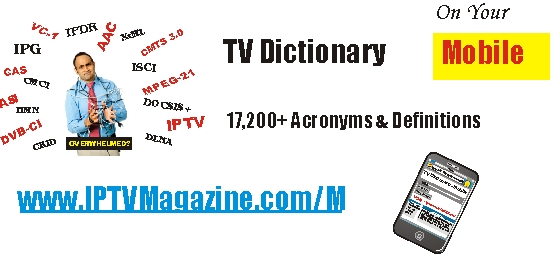 TV Dictionary on your mobile