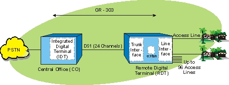 Integrated Digital Loop Carrier (IDLC) System Diagram
